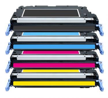 Alternativ Toner HP 501A+503A Q6470+Q7581+Q7582+Q7583 Set
