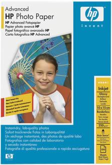 Original HP Glossy Fotopapier 150 Blatt Fotopapier 10x15 A5