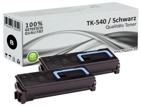2x Alternativ Kyocera Toner TK-540K Schwarz