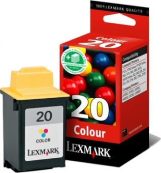 Original Lexmark Patronen 20 15MX120 Color