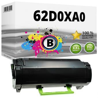 Alternativ Lexmark Toner 622X 62D2X00 Schwarz