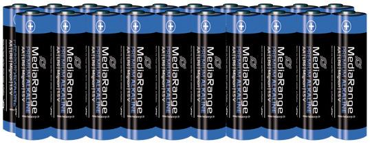 MediaRange Alkaline Batterie AA - 20 Stück