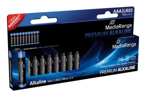 MediaRange Alkaline Batterie AAA - 10 Stück