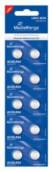 MediaRange Alkaline Knopfzelle AG10 - 10 Stück