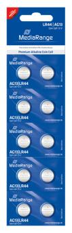 MediaRange Alkaline Knopfzelle AG13 - 10 Stück