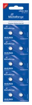 MediaRange Alkaline Knopfzelle AG4 - 10 Stück
