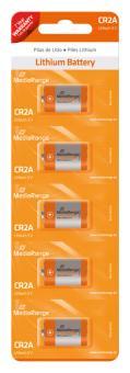 MediaRange Lithium Batterie CR2A - 5 Stück
