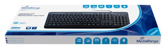 MediaRange Multimedia Tastatur