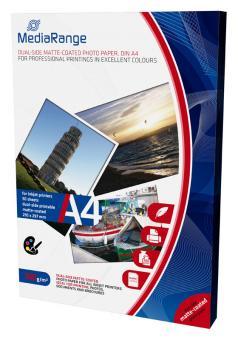 MediaRange Fotopapier DIN A4 - matt - 200g - 50 Blatt