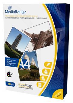 MediaRange Fotopapier DIN A4 - glänzend - 135g - 100 Blatt