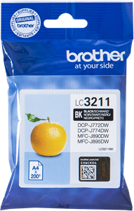 Original Brother Patronen LC3211-BK