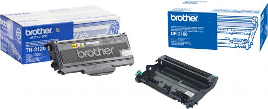 Original Brother Toner TN-2120 + DR-2100 Trommel