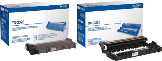 Original Brother Toner TN-2320 + DR-2300 Trommel