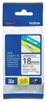 Original Brother Schriftbandkassette TX-241 18mm