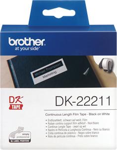 Original Brother Endlos-Etikett DK-22211 Tape