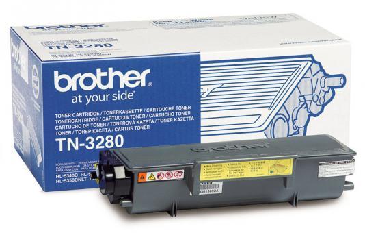 Original Brother Toner TN-3280 Schwarz