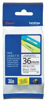 Original Brother Schriftbandkassette TZE-365 36mm laminiert