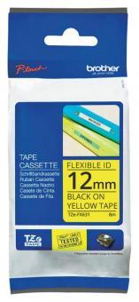 Original Brother Schriftbandkassette TZe-FX631 12mm