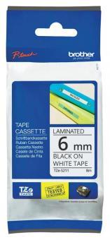 Original Brother Schriftbandkassette TZe-S211 6mm