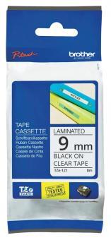 Original Brother Schriftbandkassette TZe-121 9mm