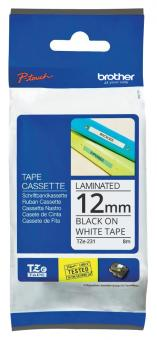 Original Brother Schriftbandkassette TZe-231 12mm