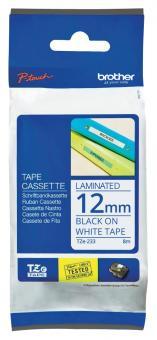 Original Brother Schriftbandkassette TZe-233 12mm
