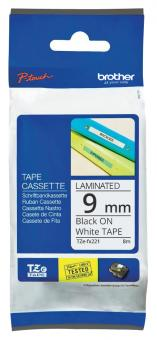 Original Brother Schriftbandkassette TZE-FX221 9mm