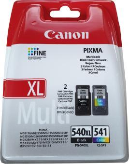 Original Canon Patronen PG-540 XL + CL-541 Set