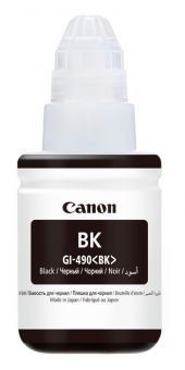 Original Canon Tinte GI-490 BK / 0063C001 Schwarz
