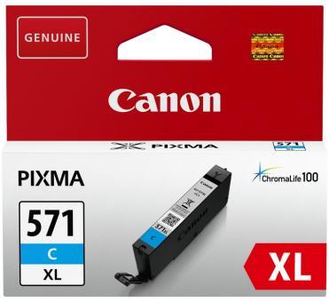 XL Original Canon Patronen CLI-571C Cyan