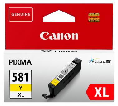 Original Canon Patronen CLI-581 XL Gelb