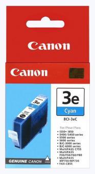 Original Canon Patronen BCI 3eC 4480A002AA Cyan