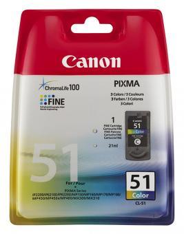 Original Canon Patronen CL 51 0618B001AA Color
