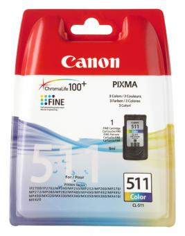 Original Canon Patronen CL 511 2972B001AA Color