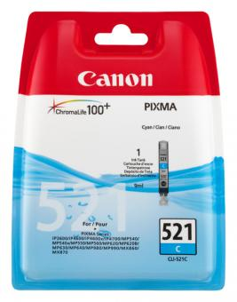 Original Canon Patronen CLI 521C 2934B001AA Cyan