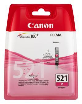 Original Canon Patronen CLI 521M 2935B001AA Magenta