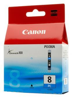 Original Canon Patronen CLI 8PC 0624B001AA Foto Cyan