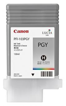 Original Canon Tintenpatrone PFI-103PGY / 2214B001 Fotograu