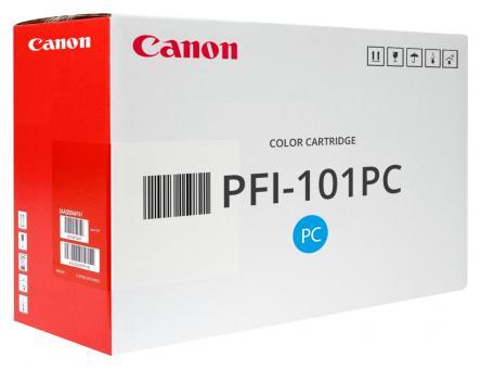 Original Canon Patronen PFI-101PC 0887B001 Fotocyan