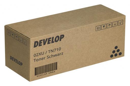 Original Develop Toner 02XU / TN710 Schwarz