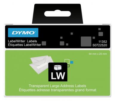 Original Dymo Mehrzweck/Absender-Etiketten 11352 54x25 mm