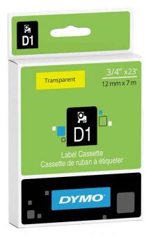 Original Dymo D1 Etiketten Label Cassette 45010 12mm x7m