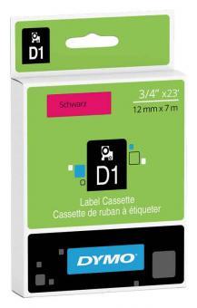 Original Dymo D1 Etiketten Label Cassette 45017 12mm x 7m
