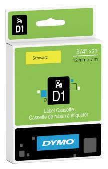 Original Dymo D1 Etiketten Label Cassette 45018 12mm x 7m