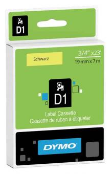 Original Dymo D1 Etiketten Label Cassette  45808 19mm x7m