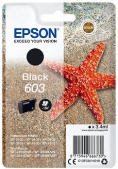 Original Epson Patronen 603 (Seestern) Schwarz