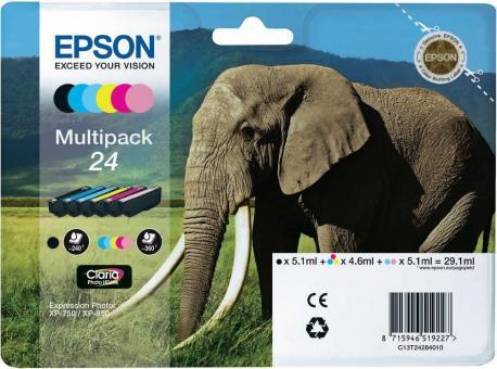 Original Patronen Epson T2428 (Elefant) Set