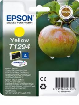 Original Epson Patronen T1294 Gelb