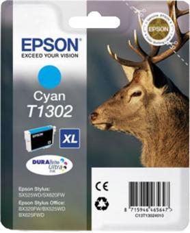 Original Druckerpatronen Epson T1302 Cyan