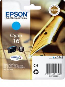 Original Patronen Epson T1622 16 Cyan